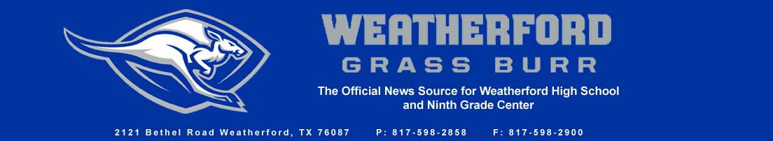 The Official News Source of Weatherford High School