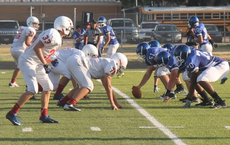 Roo JV Football Plays First Game