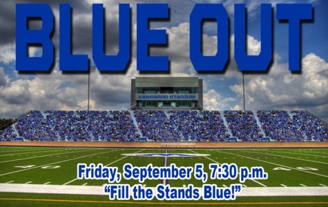 Roo's Blue Out Game Tonight