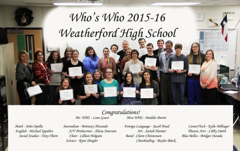 ILT recognizes WHS's Who's Who of the Senior Class of 2016.