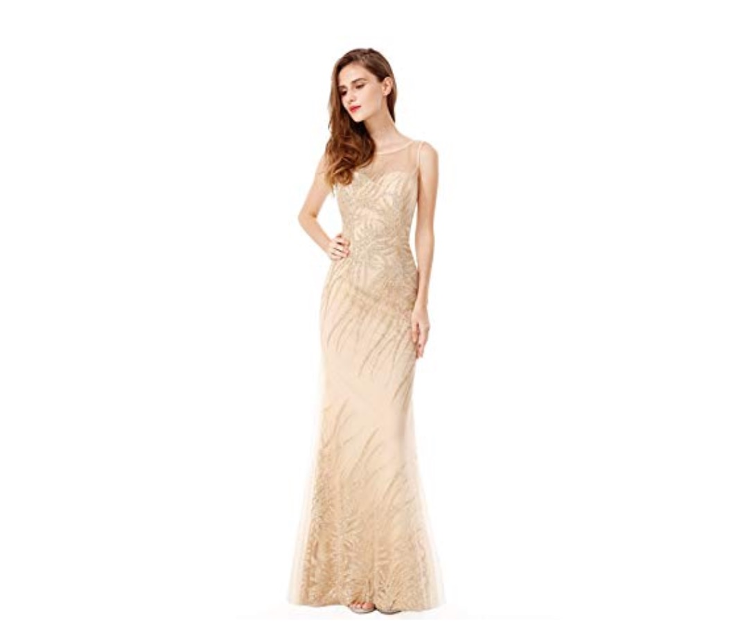 70a5fad82297 For people who want to wear a dress, illusion gowns and dresses are one of  this year's most popular looks. These designs let you show off a hint of  skin ...
