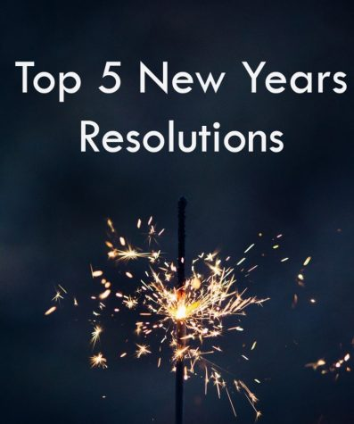 Five New Year Resolutions