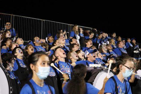 Band Screams Roo Pride at Homecoming