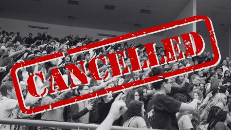 Due to the rise of COVID-19 cases in Weatherford ISD, student events such as pep rallies have been cancelled.